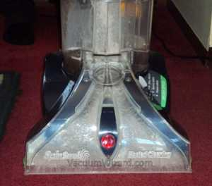 Hoover SteamVac Suction