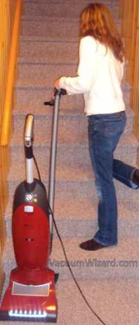 Miele S7280 Salsa On Stairs