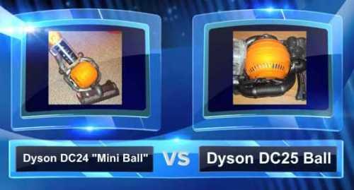 Dyson DC24 vs. DC25 Vacuum Comparison