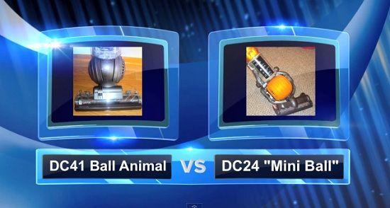 Dyson Vacuum Comparisons - DC41 vs DC24