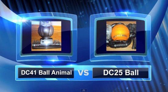 Dyson Vacuum Comparisons - DC41 vs DC25