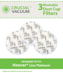 Reusable Vacuum Filters - Hoover Linx