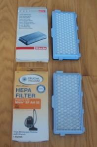 Reusable Vacuum Filters- HEPA