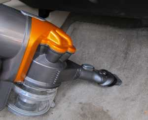Dyson DC16 Car Cleaning