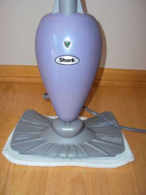 Shark Steam Mop on Hard Floors