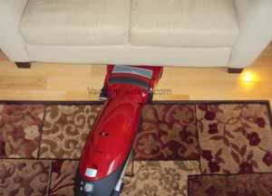 Upright Vacuum Cleaner Under Furniture