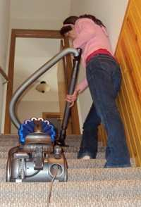 Dyson DC23 Stairs
