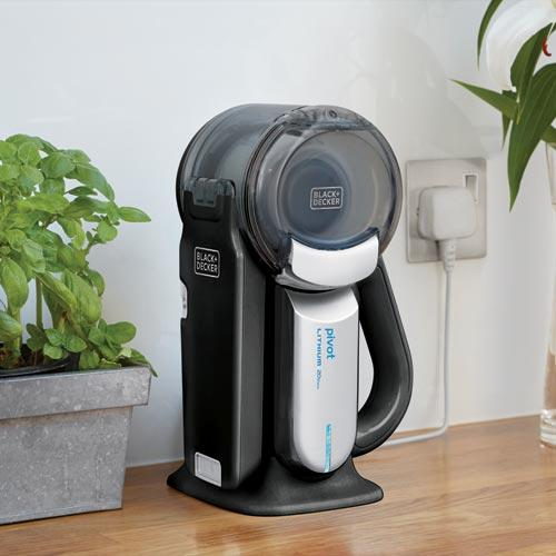 Black Decker Cordless Car Vacuum Charging Station