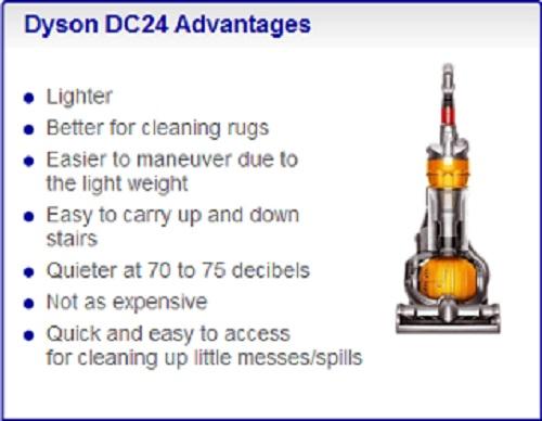 Dyson Comparison DC24