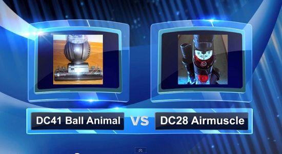 Dyson Vacuum Comparisons - DC41 vs DC28
