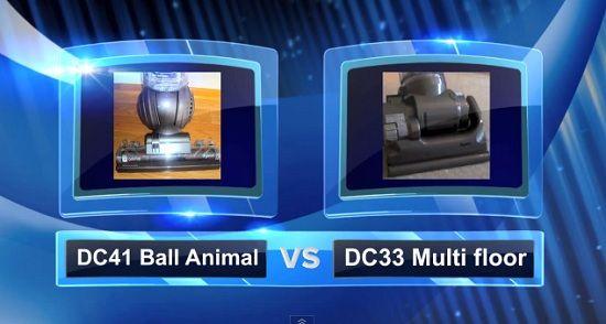 Dyson Vacuum Comparisons - DC41 vs DC33